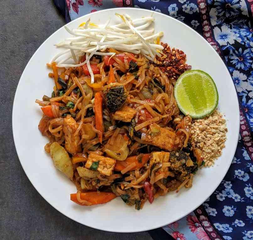 Vegan Pad Thai Recipe Step By Step Instructions