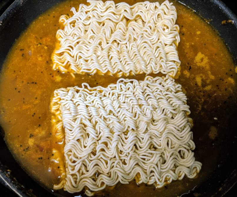 Street Style Maggi Recipe Step By Step Instructions 7