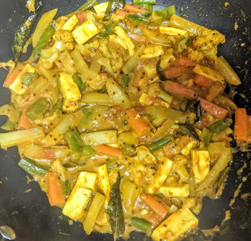 Vegetable Jalfrezi Recipe Step By Step Instructions 11