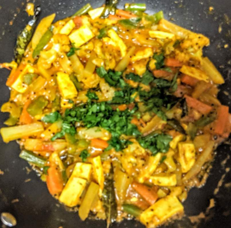 Vegetable Jalfrezi Recipe Step By Step Instructions 12