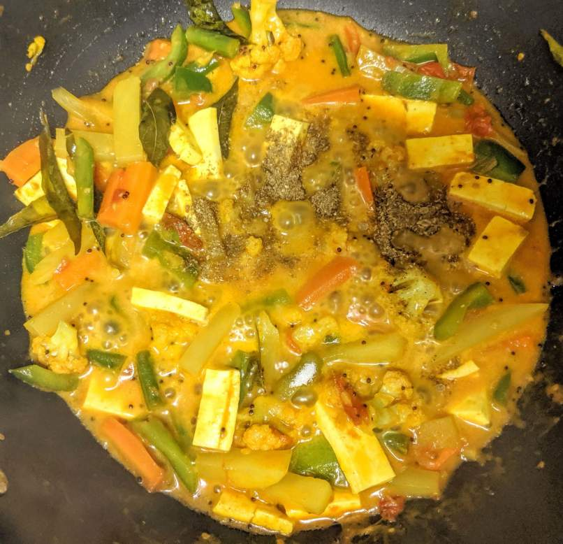 Vegetable Jalfrezi Recipe Step By Step Instructions 9