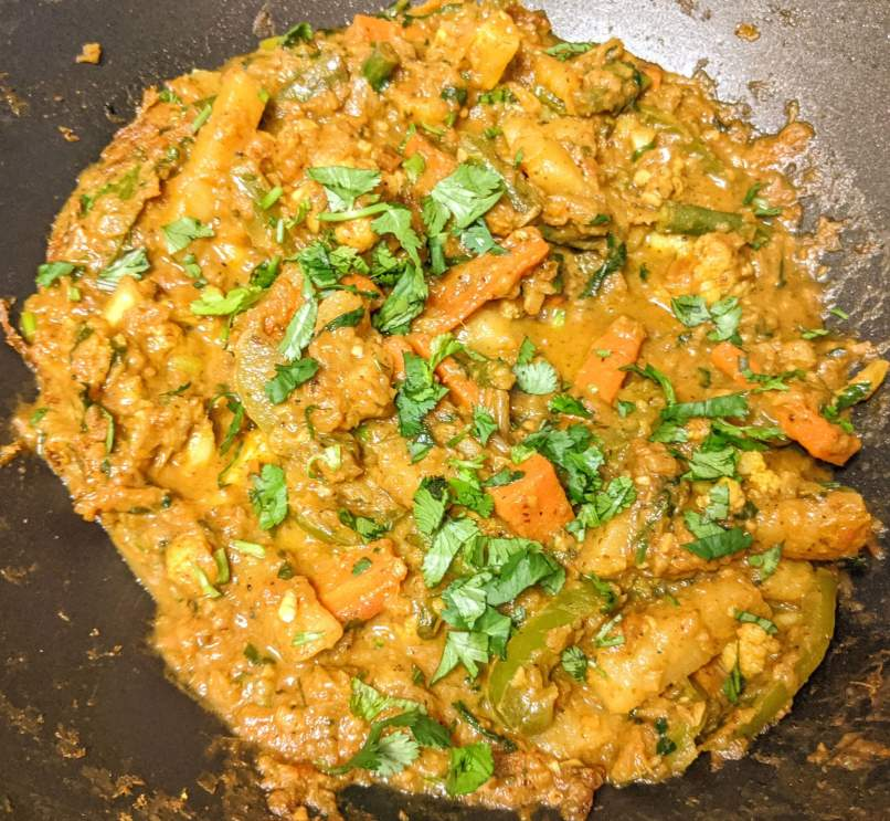 Veg Kadai Recipe Step By Step Instructions 16