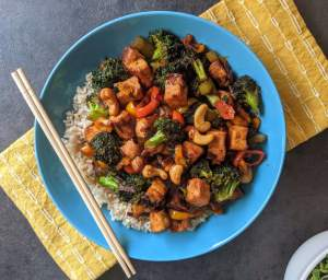 Kung Pao Tofu Recipe Step By Step Instructions