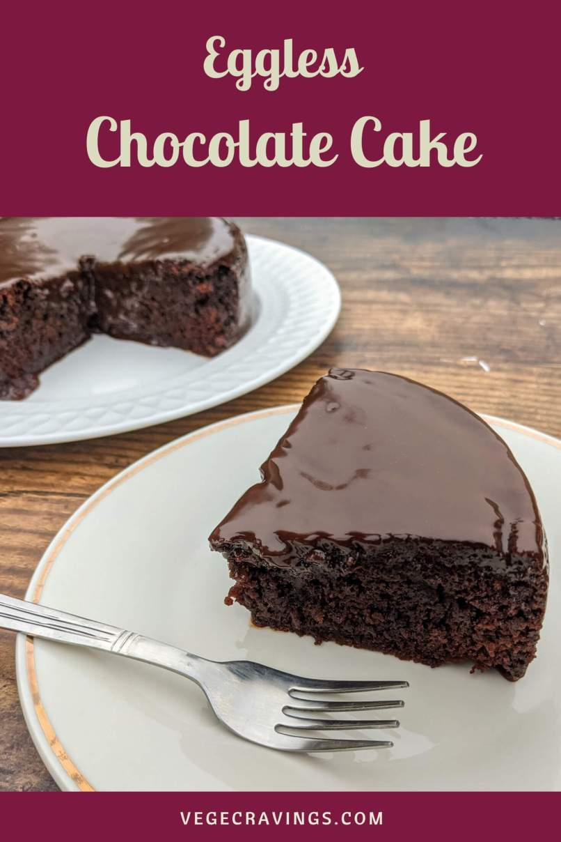 Eggless chocolate cake recipe for making soft, moist and delicious cake with condensed milk and coke, without using any eggs.