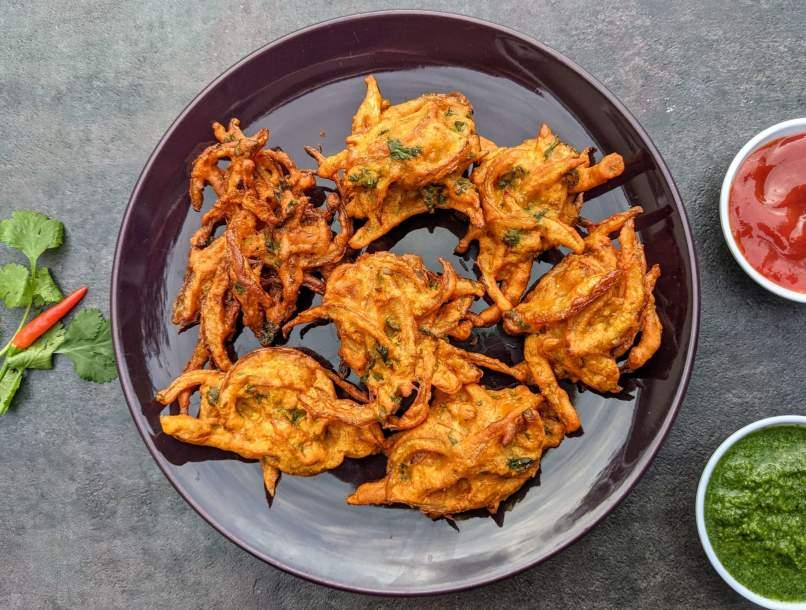 Onion Pakora Recipe Step By Step Instructions