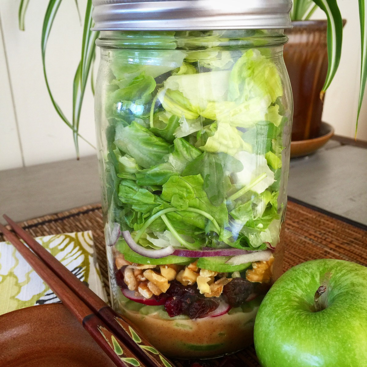 Waldorf Salad Jar