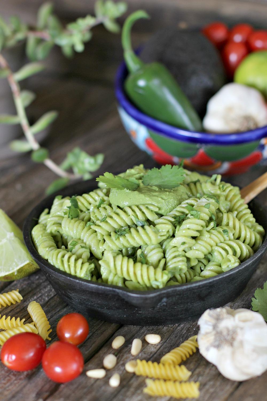 Avocado Cilantro Pesto