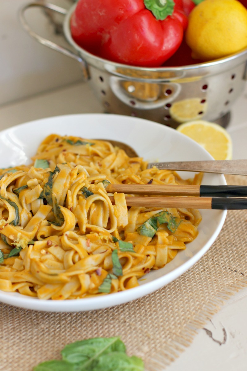 Simple Fire Roasted Red Pepper Sauce