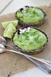 Raw Vegan Avocado Lime Tart