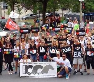 L'AVM à la Fierté de Montréal aux côtés de Ma voix pour eux