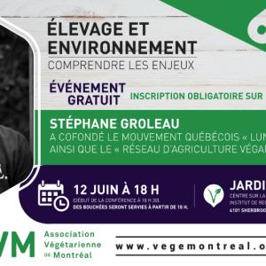 6 à 8 : Élevage et environnement – Comprendre les enjeux (12 juin)