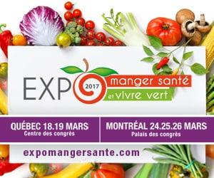 L'AVM à l'Expo Manger santé Vivre vert