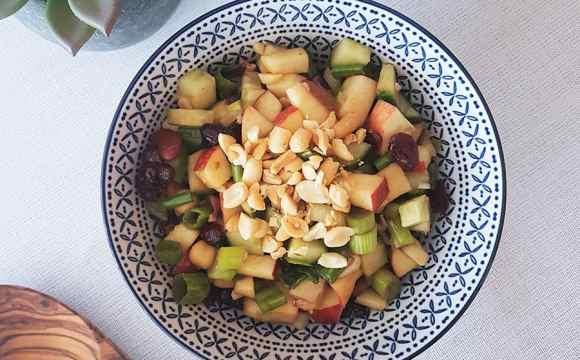 Salade de Légumineuse pommes et canneberges