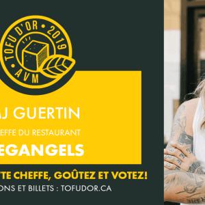 Entrevue avec MJ Guertin, cheffe de The Vegangels et participante au Tofu d'or 2019