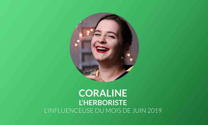 L'influenceuse du mois : Coraline de L'Herboriste