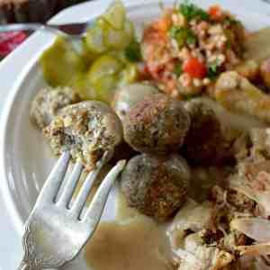 Ragoût de boulettes de sarrasin à l'ancienne
