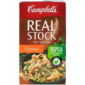 Campbells Real Stock Chicken Stock Liquid 1L