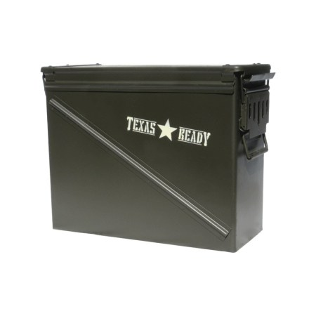 Texas Ready The Treasury survival seed bank