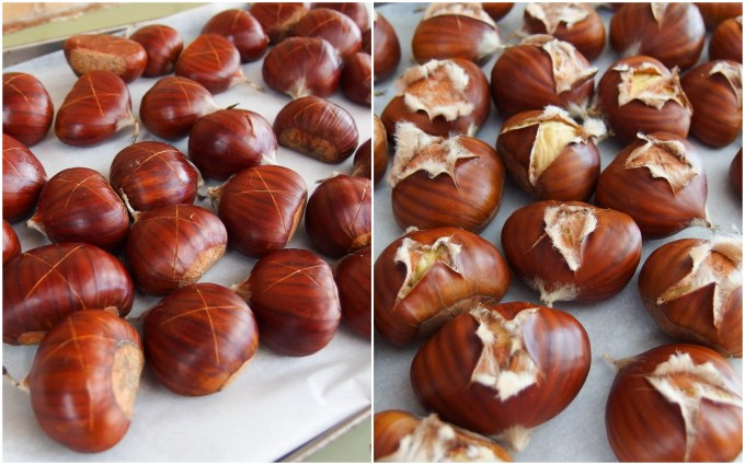 Cooking-chestnuts