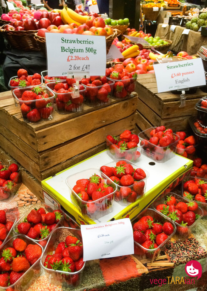 Borough Market strawberries