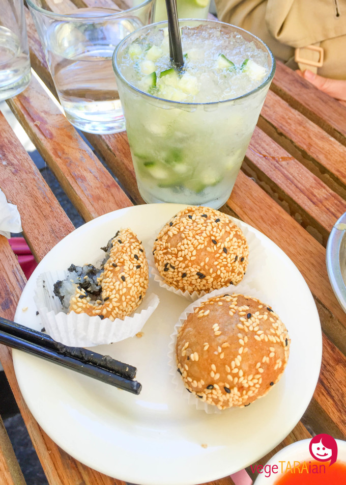 Vegetarian yum cha at Bodhi in the Park, Sydney