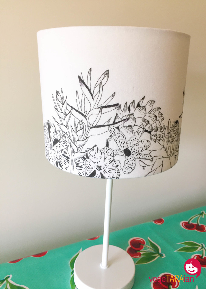 Amy's lampshade design
