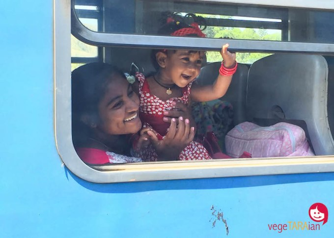 Train from Kandy to Hapatule