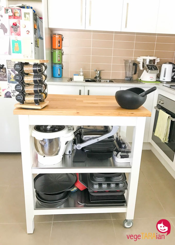 IKEA kitchen island My Monthly Loves link up