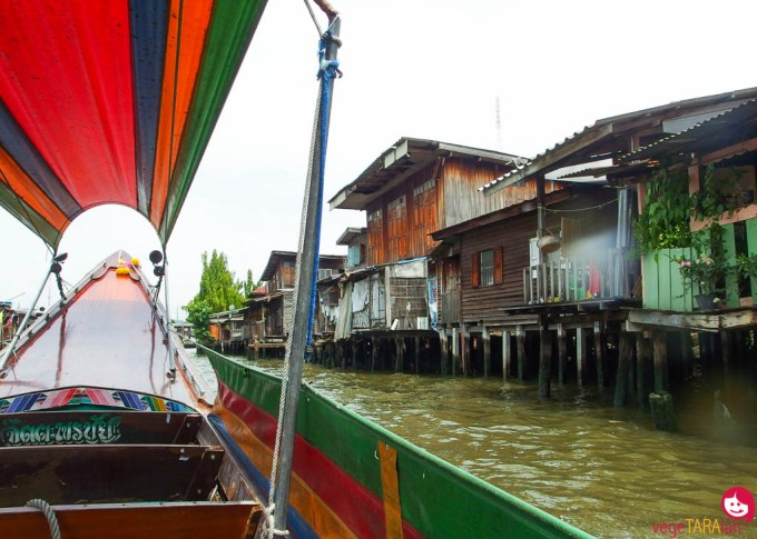 Khlong boat ride, Chao Phraya River