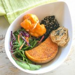 Roast vegetable nourish bowl