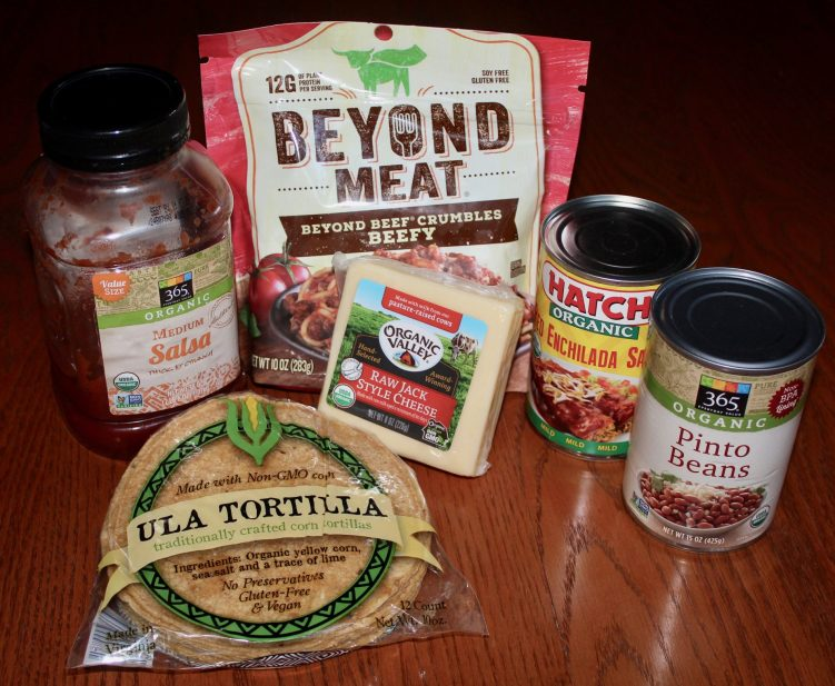 Ingredients for Easy Enchilada Casserole