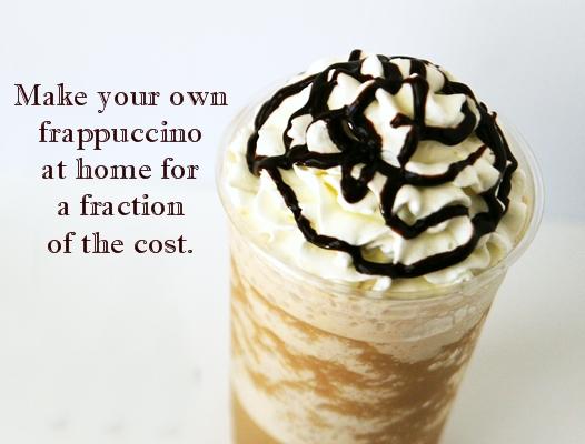 Copy Cat Recipe of Starbuck's Peppermint Mocha Frappuccino