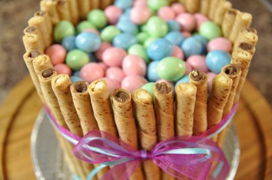 Easy Easter Basket Cake