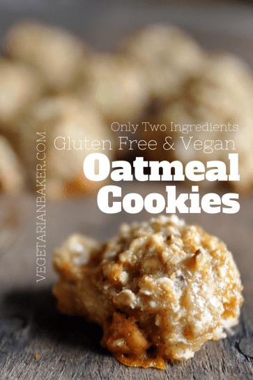 How To Make Gluten Free & Vegan Oatmeal Cookies