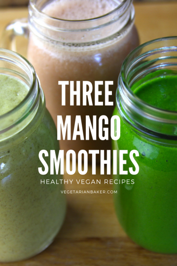 3 Healthy Mango Smoothies Recipes!