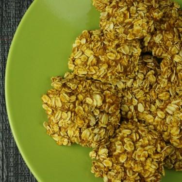 Vegan Pumpkin Oat Cookies! | Only 5 Ingredients!