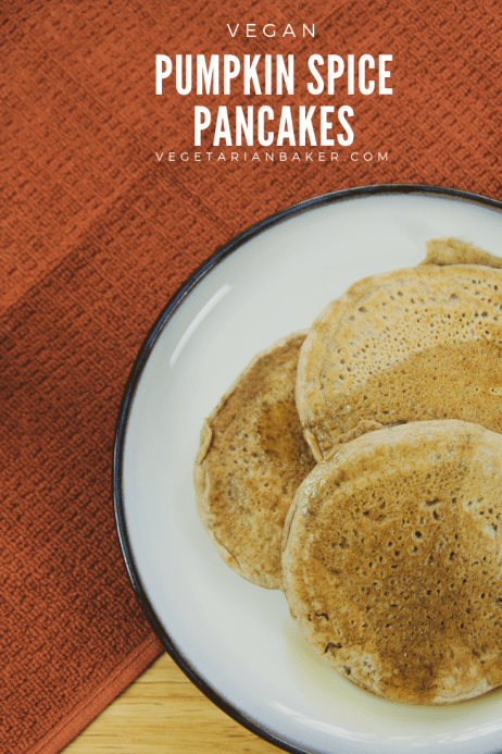 How To Make Vegan Pumpkin Spice Pancakes