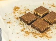 How To Make Vegan Chocolate Crunch Bars   No Bake & Gluten Free