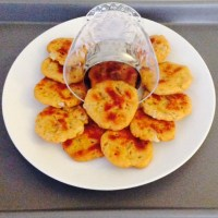 BAKED CHICKPEA CRACKERS - KIDS LUNCH BOX SNACK/AFTER SCHOOL SNACK