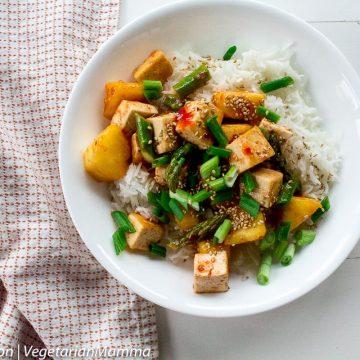 Sweet Thai Chili Tofu Bowl