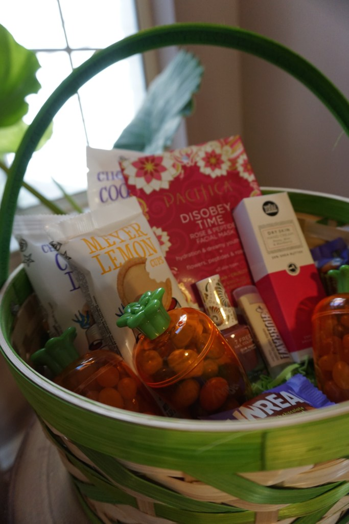 Vegan friendly easter basket vegetarian south vegan easter basket negle Images