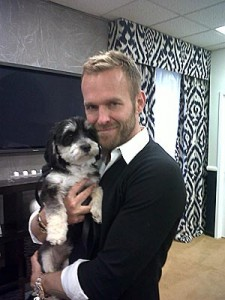 Vegetarian StarBob Harper Adopts Rescue Dog Karl Speaks