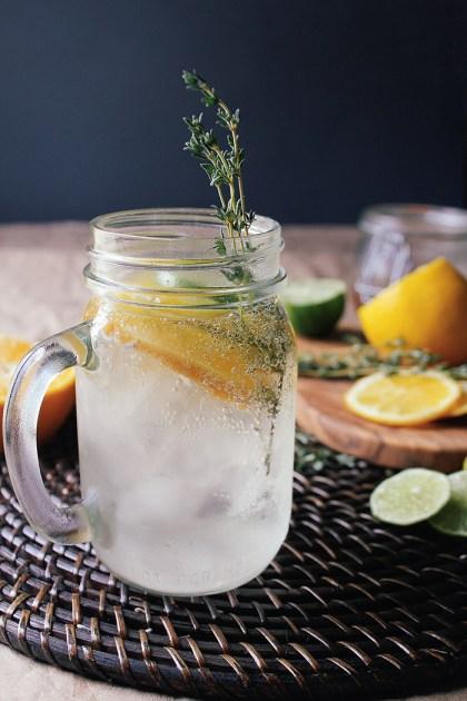 Citrus-Thyme-Cocktail