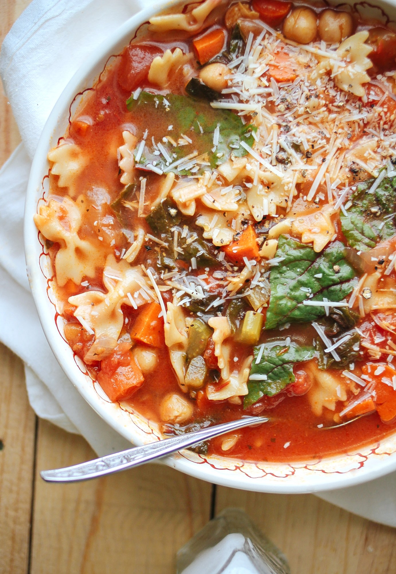 Chickpea Tomato Minestrone