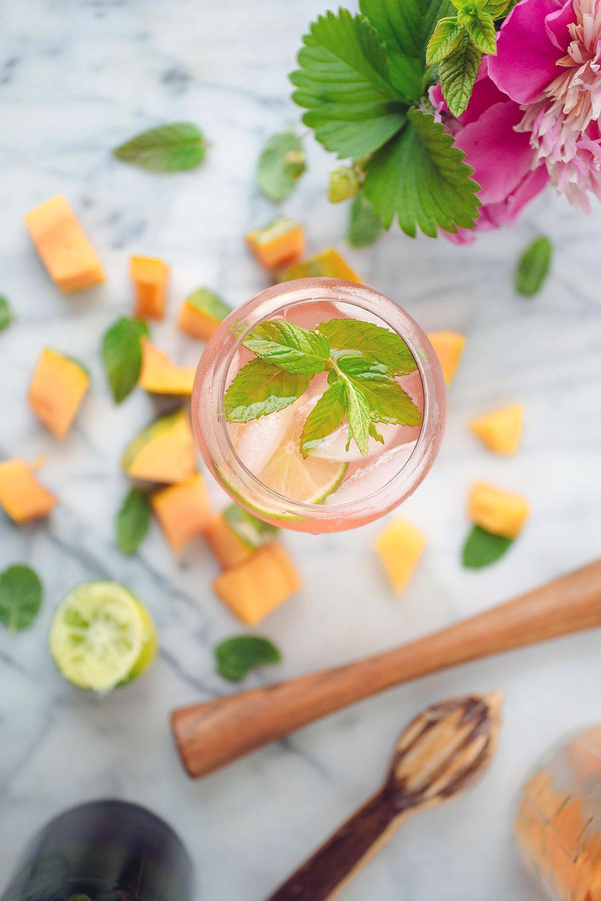 Rosé Spritzer recipe