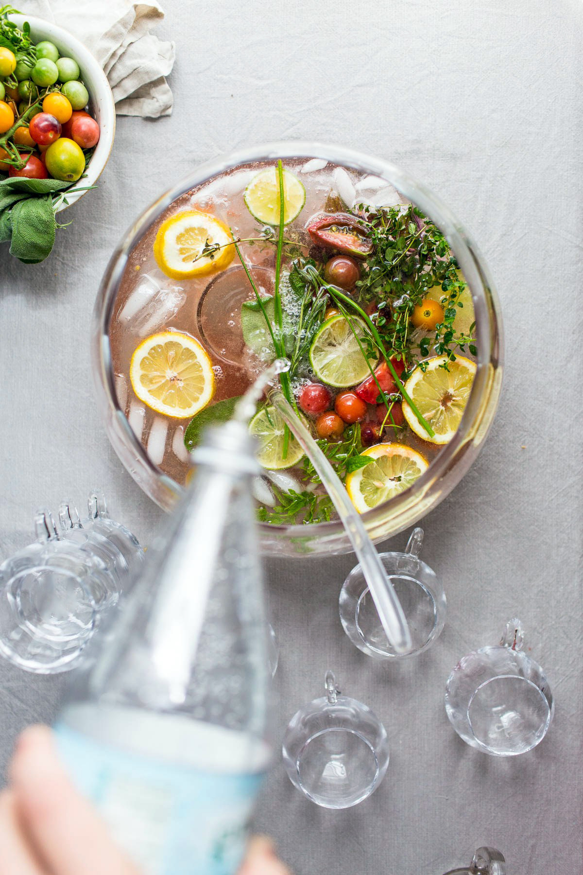 garden tonic punch