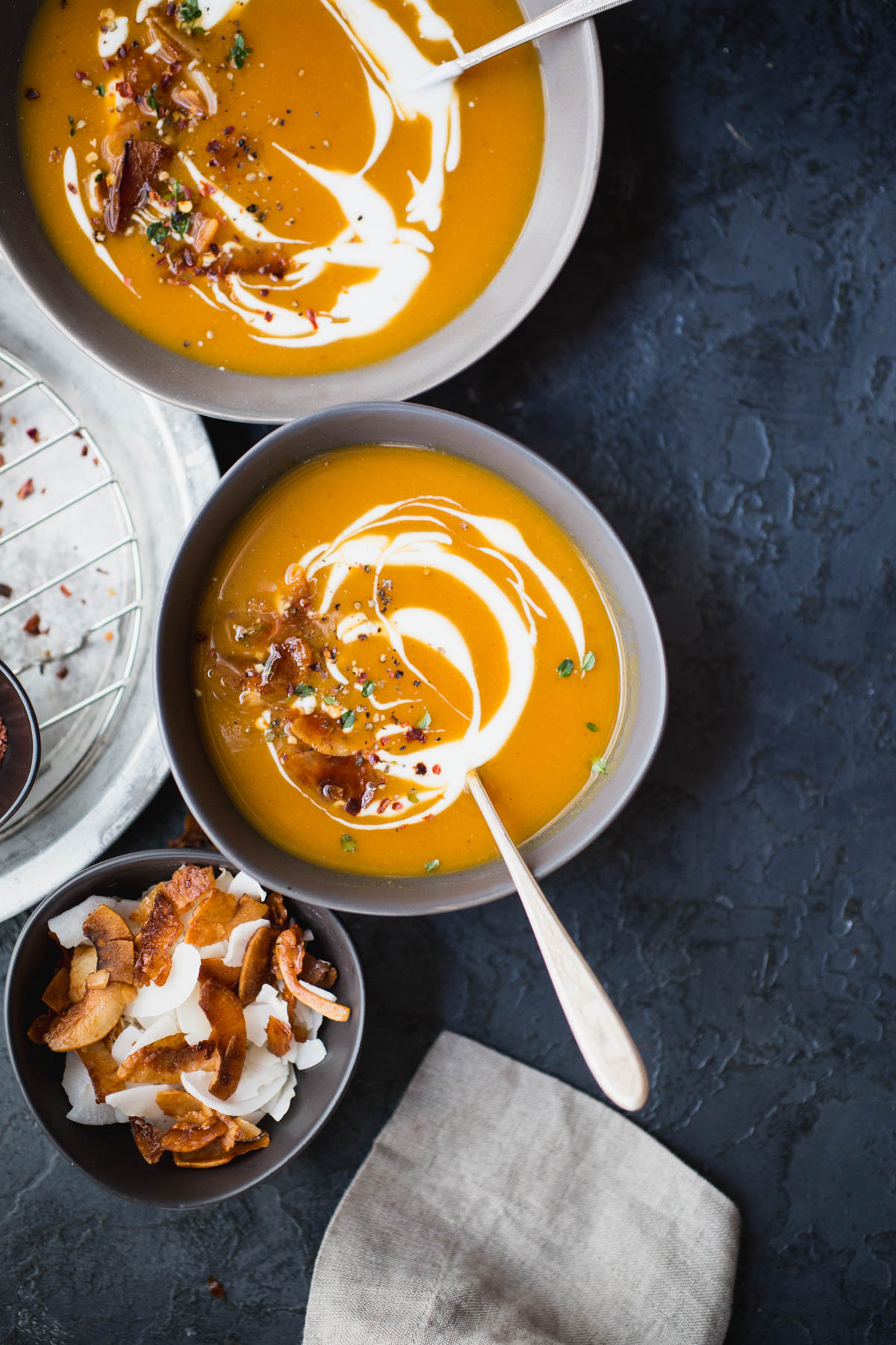 sweet potato lime and peanut soup