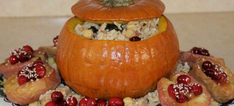 Peter, Peter, stuffed pumpkin eater