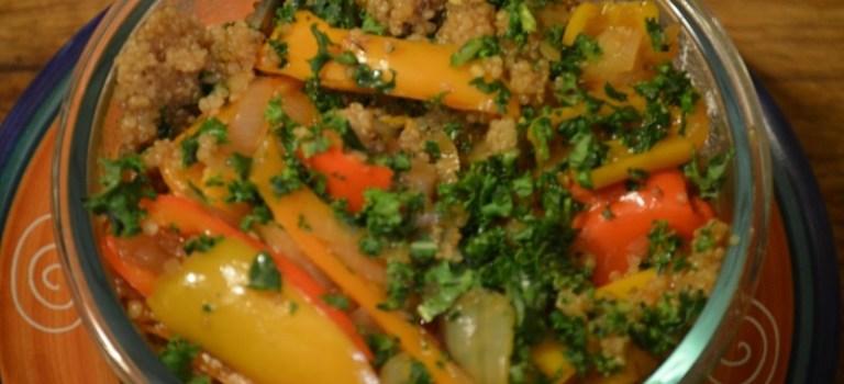 Quinoa and Veggies Teriyaki – Instant Pot