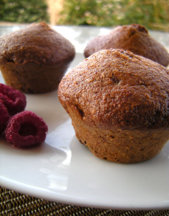 Muffins pruneaux cannelle